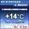 Ну и погода в Напасе - Поминутный прогноз погоды